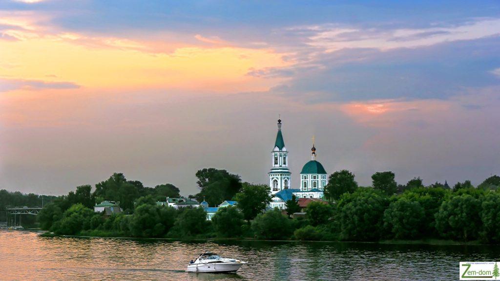 участок на реке Волга