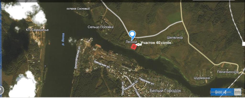 Купить участок на реке в Кимрском районе